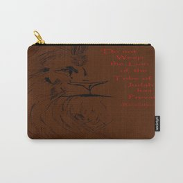 Revelation 5:5 Lion Carry-All Pouch