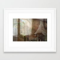 tote bag Framed Art Prints featuring Barcelona Dreaming Tote Bag by Irina D. Stanciu