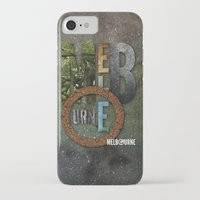 melbourne iPhone & iPod Cases featuring Melbourne by Virbia