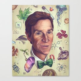 The Science Guy Canvas Print