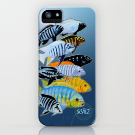 The Rare Mbuna iPhone Case