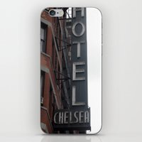 chelsea iPhone & iPod Skins featuring Chelsea by Leah Moloney Photo