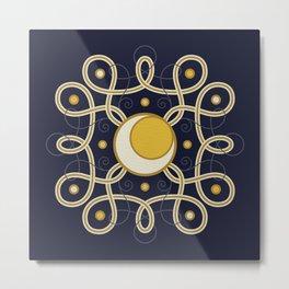 Celestial Convergence Metal Print