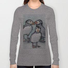 Puffins 2 Long Sleeve T-shirt