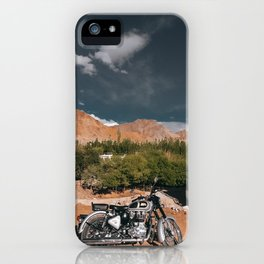 Bike Ride in Ladakh iPhone Case
