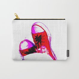 Red Trainers Carry-All Pouch