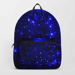 Dark Matter Galaxy Blue Backpack