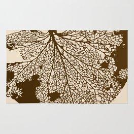 Leaf Skeleton Rug