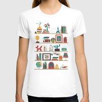 budi T-shirts featuring The shelf by Picomodi