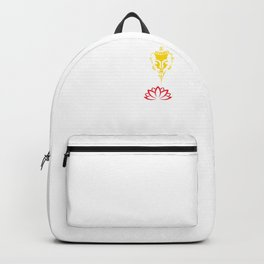 Peace Comes From Within | Gautama Buddha And The Red Lotus Backpack