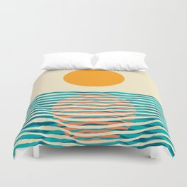 Ocean current Duvet Cover