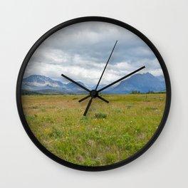 Montana Views Wall Clock