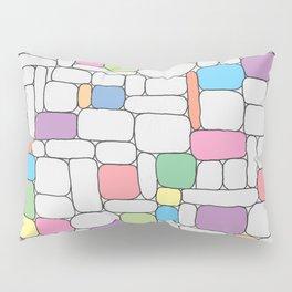 Pastel Stone Wall Pillow Sham