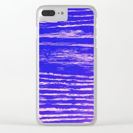 Dawn's First Light Abstract Design Clear iPhone Case