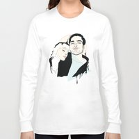 lovers Long Sleeve T-shirts featuring Lovers by Anna McKay