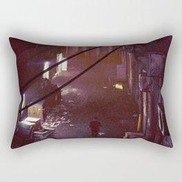Back Alley Rectangular Pillow