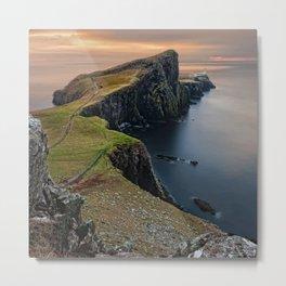 Scotland Panorama Metal Print