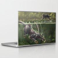 snatch Laptop & iPad Skins featuring Sharlus by Rushelle Kucala Art