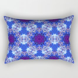 Abstract rippled glossy Rectangular Pillow