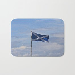 Scottish Flag Bath Mat