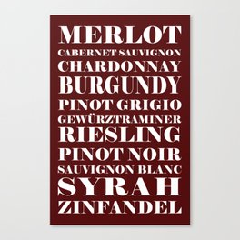 Wine Celebration Canvas Print