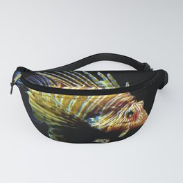 Red Lionfish Fanny Pack