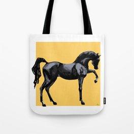 'Black Horse' Tote Bag