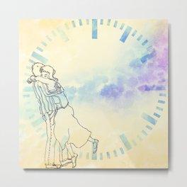 Timing Metal Print