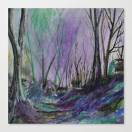 Magic Forest Are Just a Little Bit Haunted Canvas Print