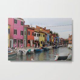 burano color Metal Print