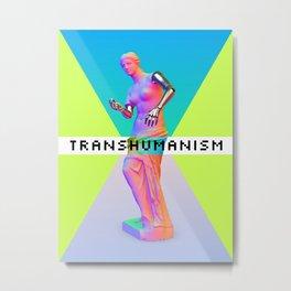 Maquinus Transhumanism ENG Metal Print