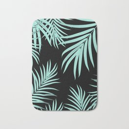 Palm Leaves Pattern Summer Vibes #6 #tropical #decor #art #society6 Bath Mat