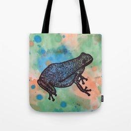 Frog Dejavu Tote Bag