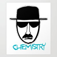 chemistry Art Prints featuring Chemistry by John Michael Gill