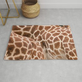 Abstract giraffe picture Rug