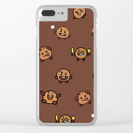 BT21 - Cute Shooky Clear iPhone Case