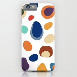 Terrazzo Abstract Pattern iPhone Case