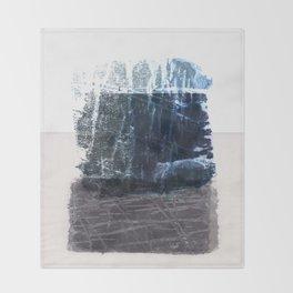 form & texture Throw Blanket