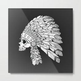 American Indian art Metal Print