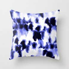 Kindred Spirits Blue Throw Pillow