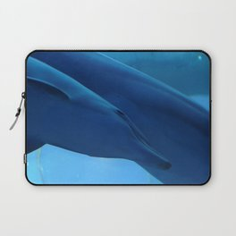 Little dolphin with his mother Laptop Sleeve