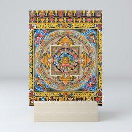 Mandala Buddhist 5 Mini Art Print