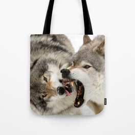 Laying down the law Tote Bag