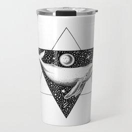 THE WHALE & THE MOON Travel Mug
