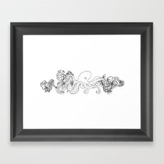 Hidden Treasure Framed Art Print