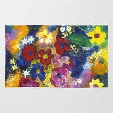 Bright Flowers Rug