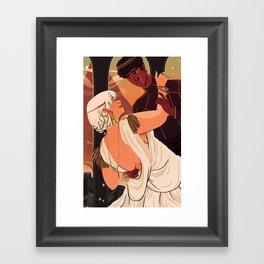 The Dumpling Princess - THE WEDDING Framed Art Print