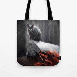 BLACK CAT II Tote Bag