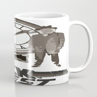 back to the future Mugs featuring BACK TO THE FUTURE by Rocky Rock