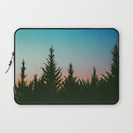 TREES - SUNSET - SUNRISE - SKY - COLOR - FOREST - PHOTOGRAPHY Laptop Sleeve